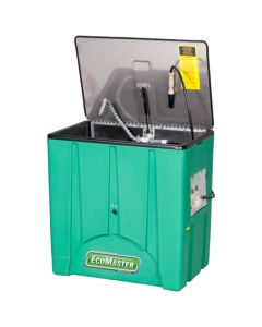 EcoMaster 6000 45 Gallon Heated Washer, Stainless Steel Lid