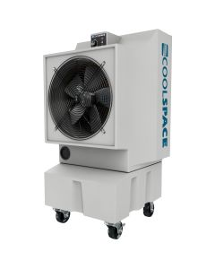 Coolspace 18 in. Evaporative Cooler, Variable Speed, 16 Gallon