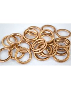 12mm Crushable Copper Oil Drain Plug Gaskets M12 Fits Pontiac (100 pc.)