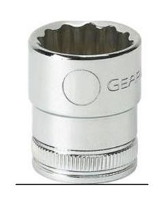 3/8 in. Drive 6 and 12-Point Metric Standard Length Sockets