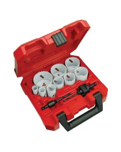 Milwaukee 13-Piece Hole Dozer General Purpose Ice Hardened Hole Saw Kit