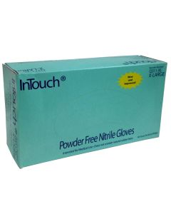 InTouch XLarge Blue Nitrile Gloves