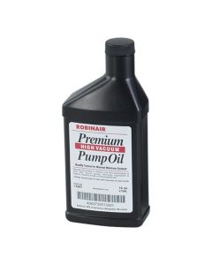 Premium High Vacuum Pump Oil - 16 oz. Case of 12