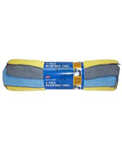 8 pk Microfiber Towel 14x14 (80/20 Blend)