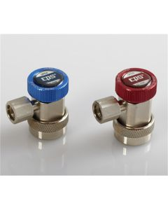 A/C Manual Coupler Set, 2 Piece, with 12mm Fittings, for HFO1234yf