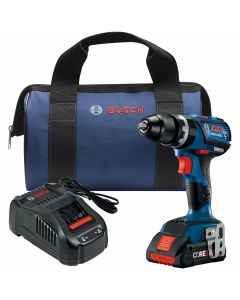 18V Brushless Compact Tough Hammer Drill Driver, Connected Ready w/ (1) 4.0 Ah CORE Compact Battery