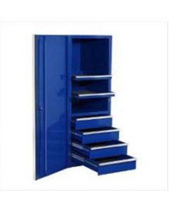 """Extreme Tools Blue Side Cabinet for the 72"""" Tool Box Series"""