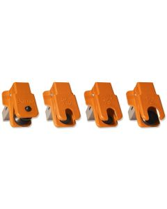 4 Piece Spring Loaded Fluid Stopper Kit