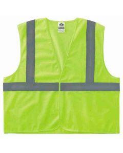 8205HL L/XL Lime Type R Class 2 Super Econo Mesh Vest