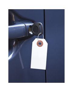 Paper Key Tag w/ Metal Ring 1000/Box