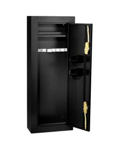 Homak Mfg. 8 Gun Steel Security Cabinet, Black