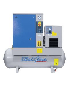 BelAire 7.5HP Single Phase Rotary Screw with Dryer