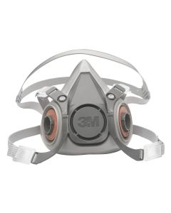 3M Half Facepiece Reusable Respirator 6200/07025, Medium