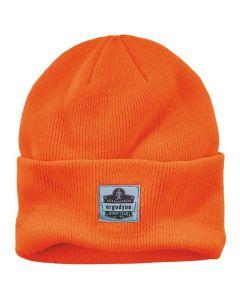 6806 Orange 6806 Cuffed Rib Knit Beanie Hat