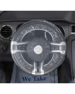 Petoskey Plastics 500EA Steering Wheel Covers, Shower Cap