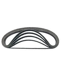 SP Air Corp. 10-Pack Replacement 60-Grit Abrasive Belt 3/8 in. x 13 in.
