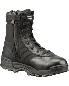 Original S.W.A.T. Classic 9 in. Side-Zip Tactical Boots, Black, Size 13.0W Wide