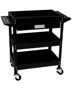 3-Shelf Utility Cart w/Drawer
