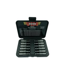 12 Piece Metric Power Drive Nut Setter Set with Magnetic and Hollow Point Drivers