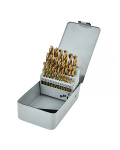 Drill Bit Set Titanium 29 Pc