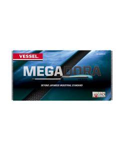Vessel MEGADORA JAWSFIT 8-Piece Standard Screwdriver Set in EVA