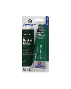 Gear Oil RTV Sealant, 3 oz. Size, Low Odor, Sensor Safe, Complies with OE Manufacturers