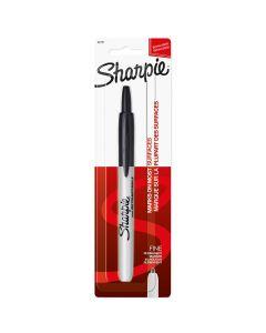 Sharpie Retractable Fine Point Permanent Marker, Black