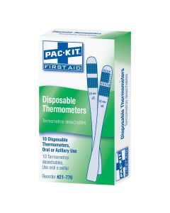 Disposable Thermometers, 10/box