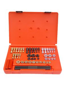Fractional SAE and Metric Thread Restorer 48-Piece Kit