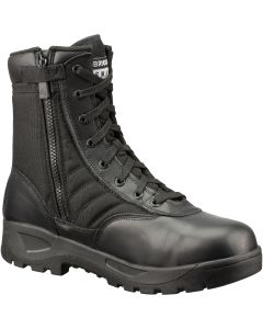 Original S.W.A.T. Classic 9 in. CST (Safety-Toe), Side-Zip Tactical Boots, Size 12.0W Wide
