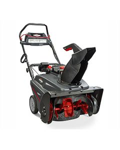 Briggs and Stratton Single Stage 22 in. Snow Thrower with Snow Shredder Auger and 250cc Engine with Electric Start