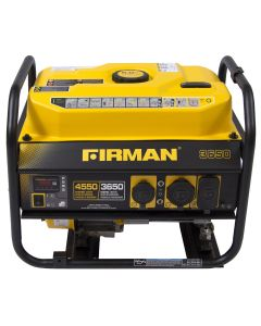 Firman Power Equip. 3650/4550 Watt Generator