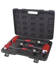 Forged Steel Hammer 3-Piece Kit