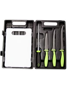 Sarge Fishing Knife 5-Piece Kit in Blow Mold Case