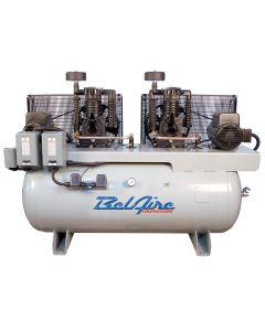 10hp/120GAL 1 phase cast iron duplex compressor