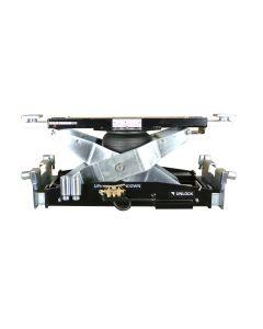7,000 Lb. Cap Air Bag Scissor Rolling Bridge Jack