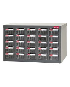 PARTS CABINET STEEL 25 DRAWERS
