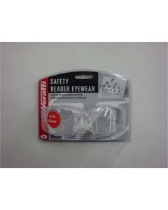 Safety Glasses - Veratti 2000 Readers Clear Lens, Enfog Diopter +2.0
