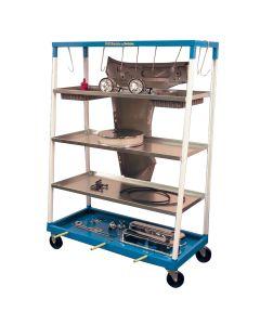 Mobile Parts Shelf Cart