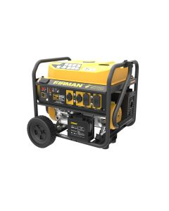 Open Frame 7125/5700W Remote Start Gasoline Powered Portable Generator with Wheel Kit