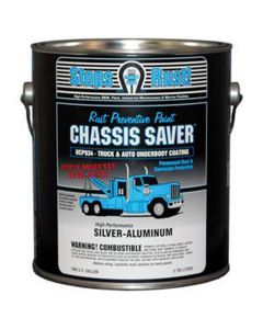 Chassis Saver Paint, Stops and Prevents Rust, Sliver-Aluminum, 1 Gallon Can