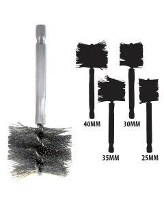 25-40 MM Stainless Steel Brush Kit
