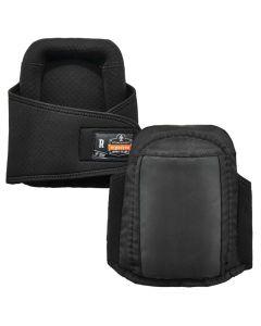 350 Black Gel Foam Knee Pads