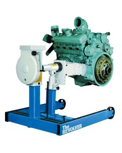 6,000 lb Capacity Revolver Diesel Engine Stand with Adapter Assembly