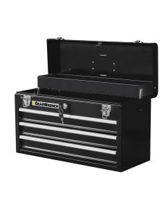 "20"" 3 Drawer Steel Tool Box"