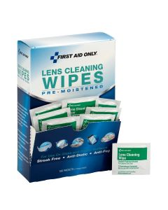 Lens Cleaning Wipes, 100/box