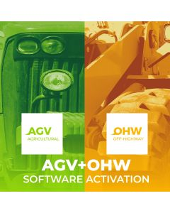 Software activation. AGV+OHW license of use USA