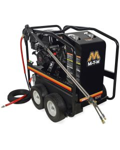 Mi-T-M Gas-Powered Direct Drive Hot Water Pressure Washer with 3500 PSI