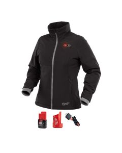 M12 Heated Women's SOFTSHELL Jacket Kit L (Black)