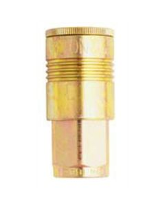 "3/8"" P-Style 1/4"" NPT Female Coupler"